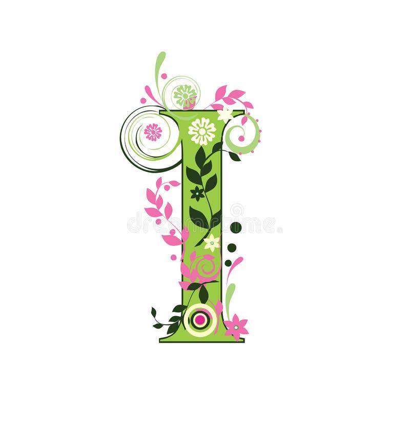 Character I stock illustration