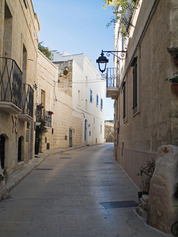 Download Characteristic Alley. Monopoli. Apulia. Stock Photo - Image: 12571360
