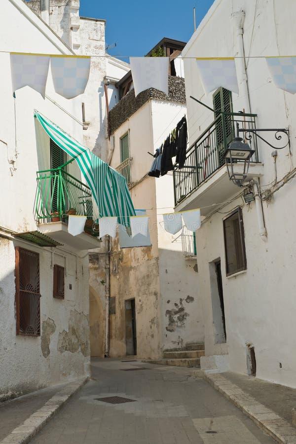 Alleyway. Castellaneta. Puglia. Italy. Characteristic alleyway of Castellaneta. Puglia. Southern Italy stock images