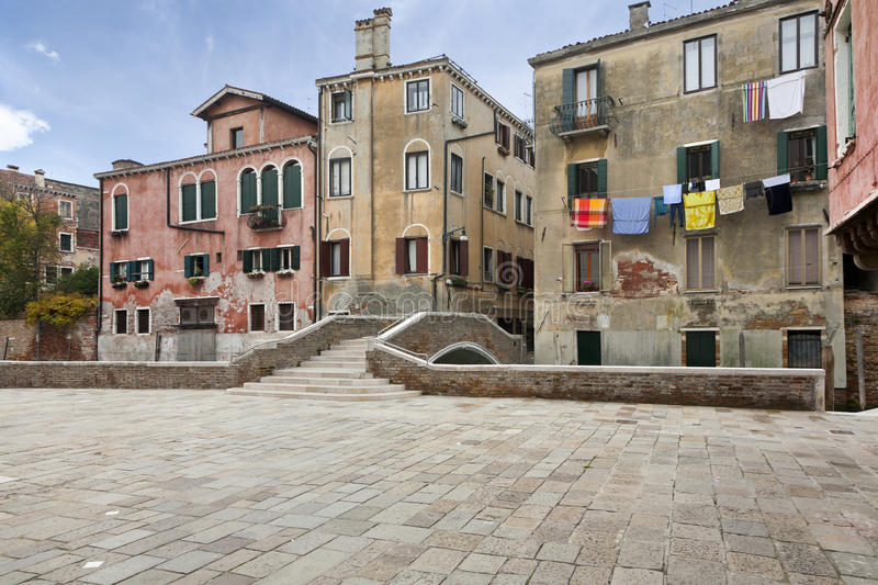 Download Characteristic Street Of Venice Royalty Free Stock Image - Image: 21185276