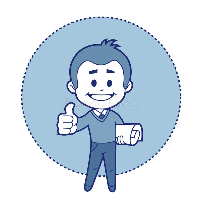 Charakteru inżynier mówi ok! ilustracji