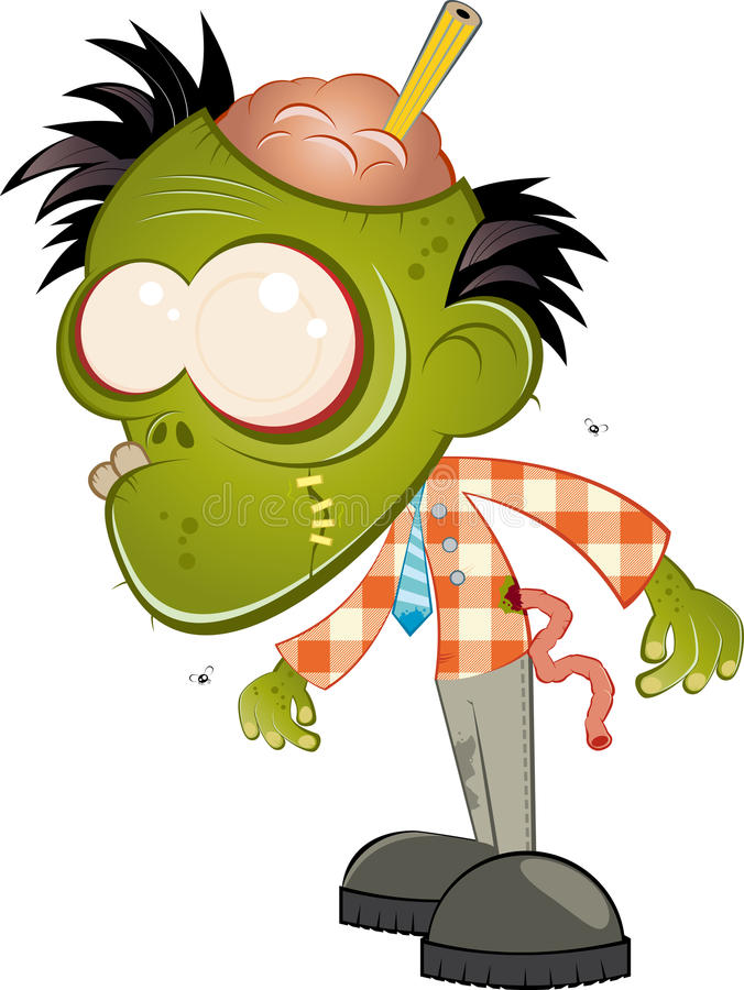 charakteru potwór ilustracji