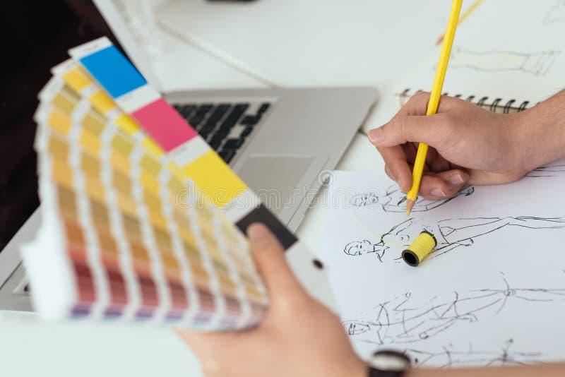 Download Charakterystyczny Kolor Druku Prasy Przemysłu Obrazu Pre Próbki Obraz Stock - Obraz złożonej z projektanci, kreatywnie: 41953617