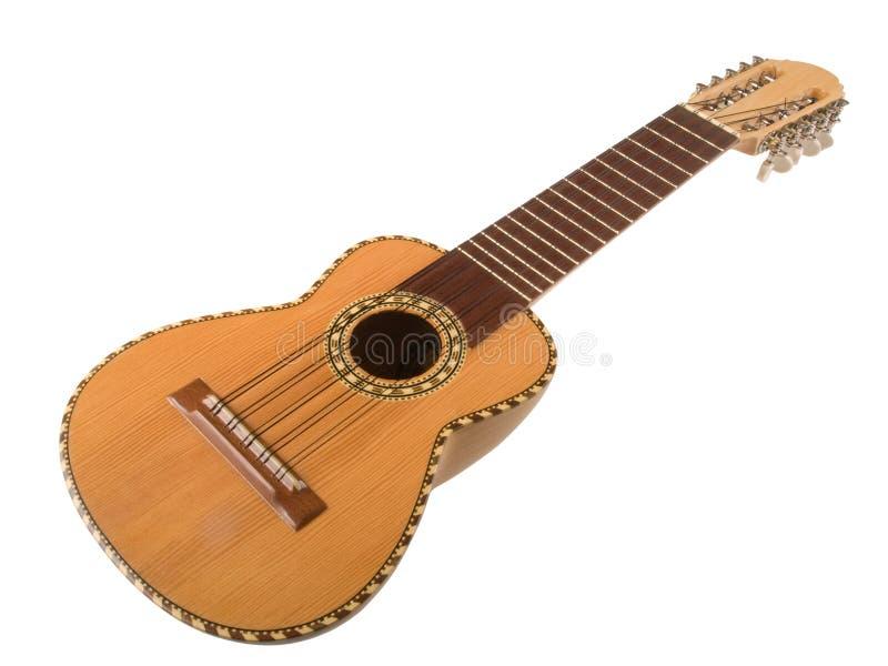 charango吉他秘鲁人 免版税库存照片