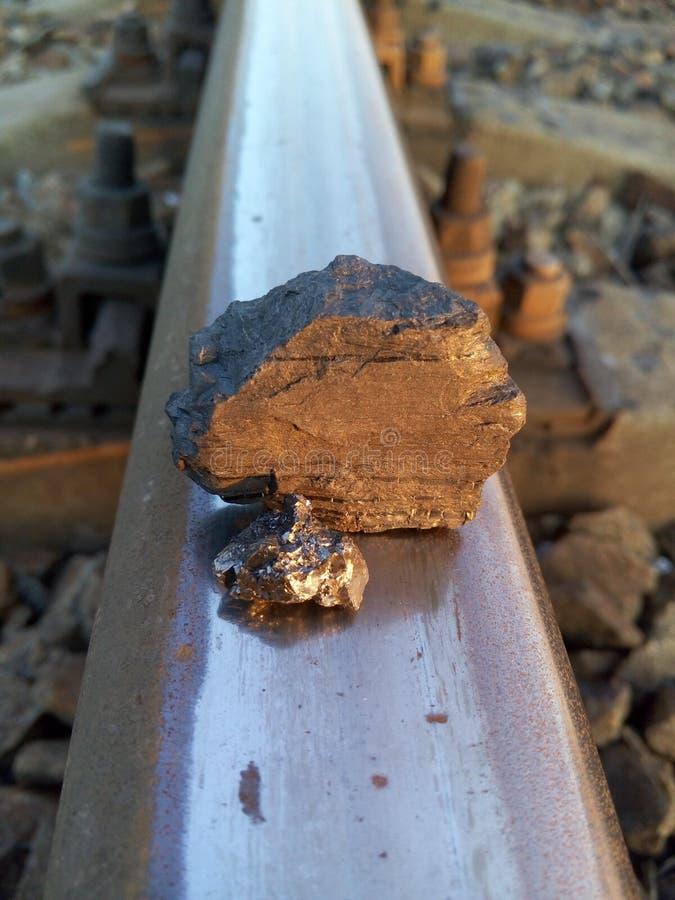 charbon Charbon-dur photographie stock libre de droits