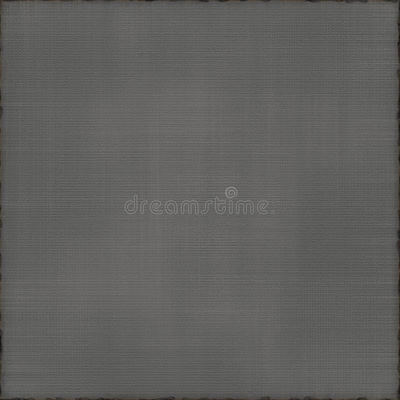 Charbon de bois chaud neutre texturisé simple Grey Background images stock