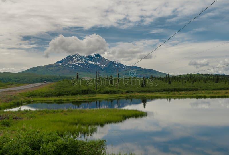 Charca de Alaska foto de archivo libre de regalías