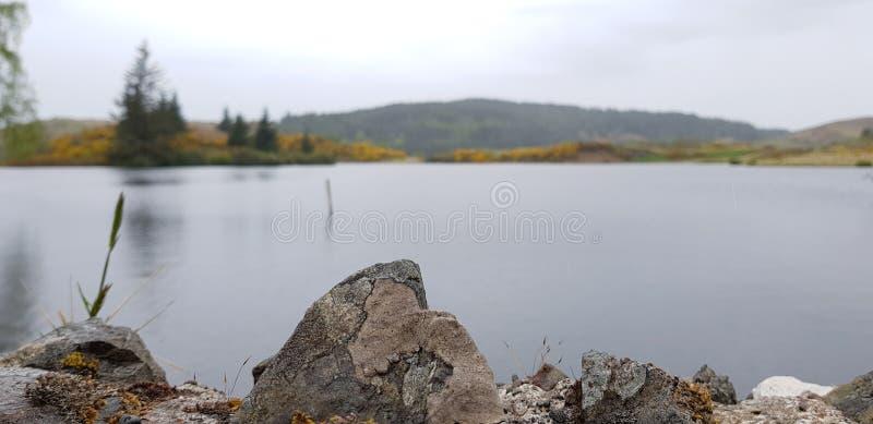 Charca escocesa foto de archivo libre de regalías