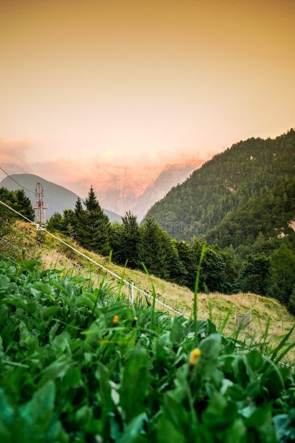 Charca hermosa en las montañas de Tatra fotografía de archivo libre de regalías