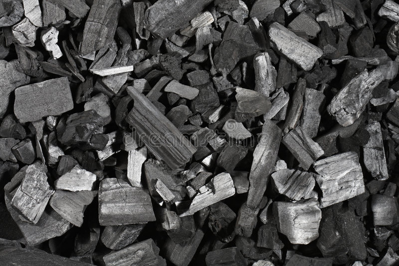Download Charcoal stock image. Image of carbon, lumps, black, texture - 8553413