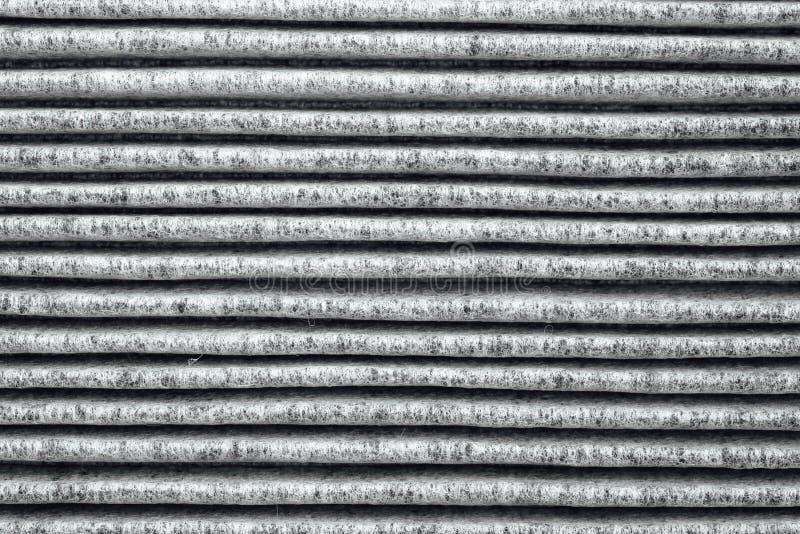 Charcoal air filter texture stock photos