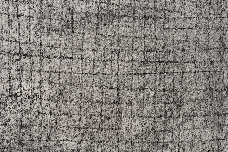Charcoal drawing pattern on paper background royalty free stock image