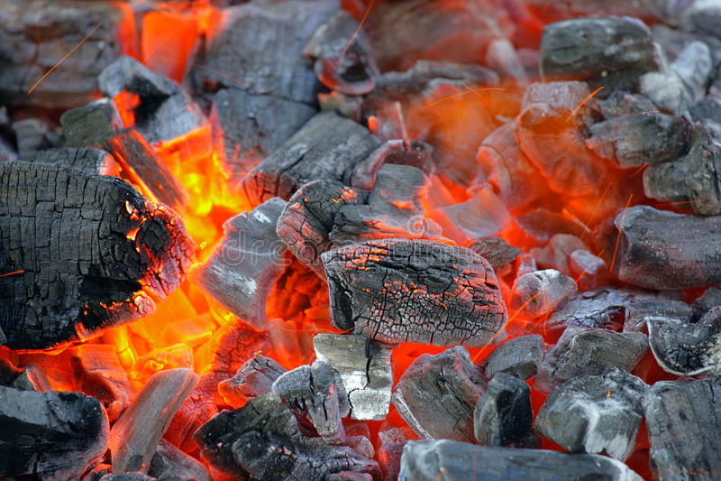 Download Charcoal Fire. Stock Images - Image: 37842834