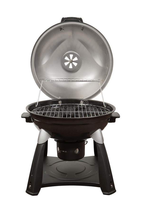 Charcoal Grill isolated with a clipping path