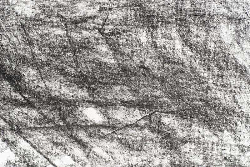 Charcoal on paper drowing background texture royalty free stock photos