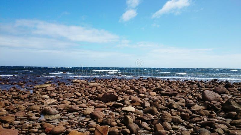 Charge la vue de plage image libre de droits