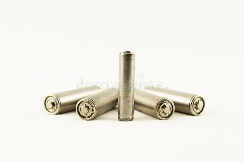 Chargeable batterier isolerad motorförbundettyp royaltyfri foto