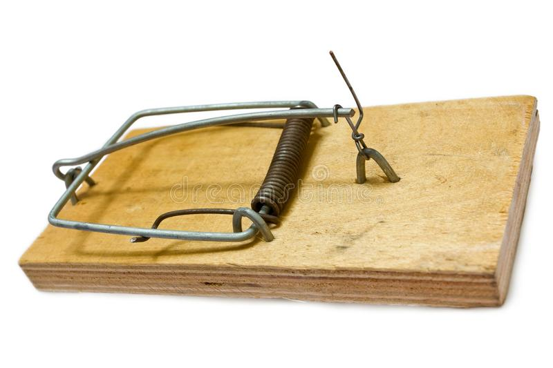 Download Charged mousetrap stock image. Image of pest, equipment - 25180361