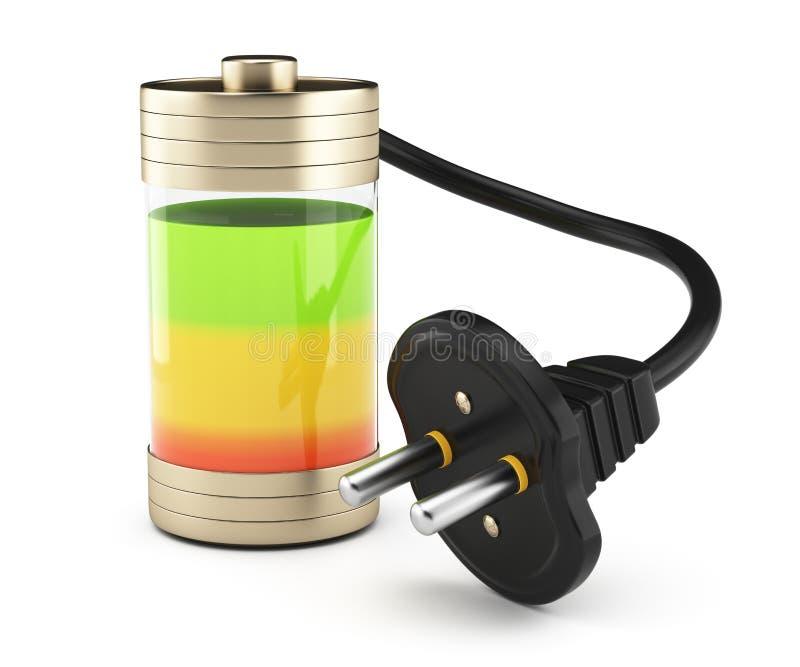 Chargement de batterie illustration stock