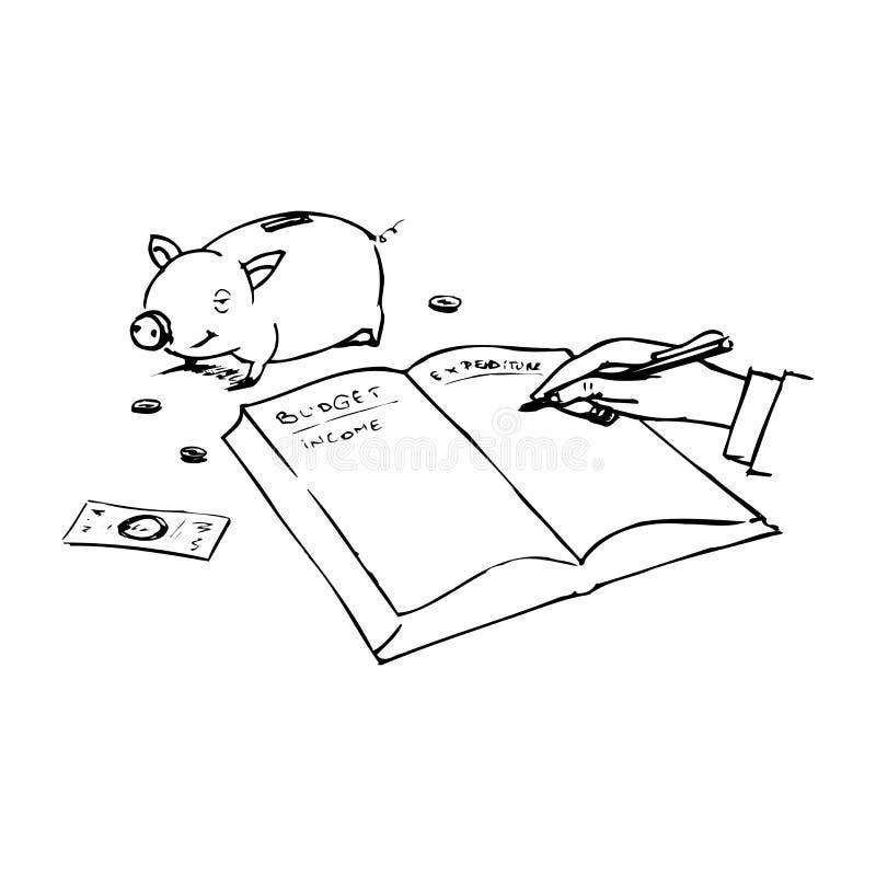 Charges de ménage illustration stock
