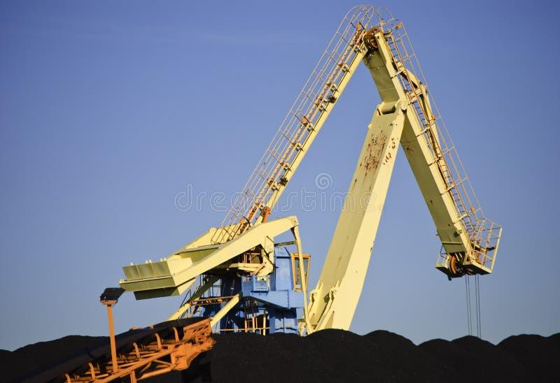 Chargeur de charbon photographie stock