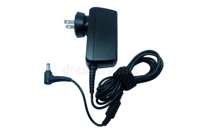 Chargeur de puissance d'adaptateur d'ordinateur portable image libre de droits