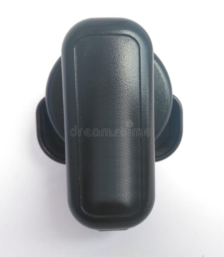 Chargeur micro de téléphone portable d'usb sur le fond blanc images stock
