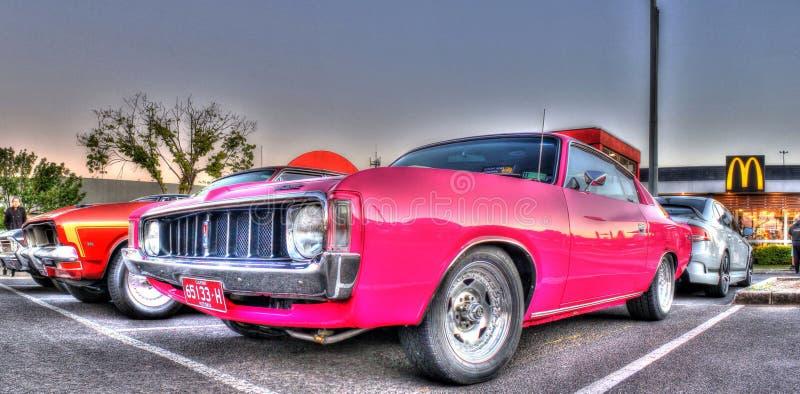 Chargeur vaillant de Chrysler d'Australien fait sur commande des années 1970 photo libre de droits