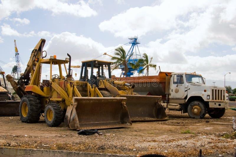 Chargeurs de construction photo libre de droits