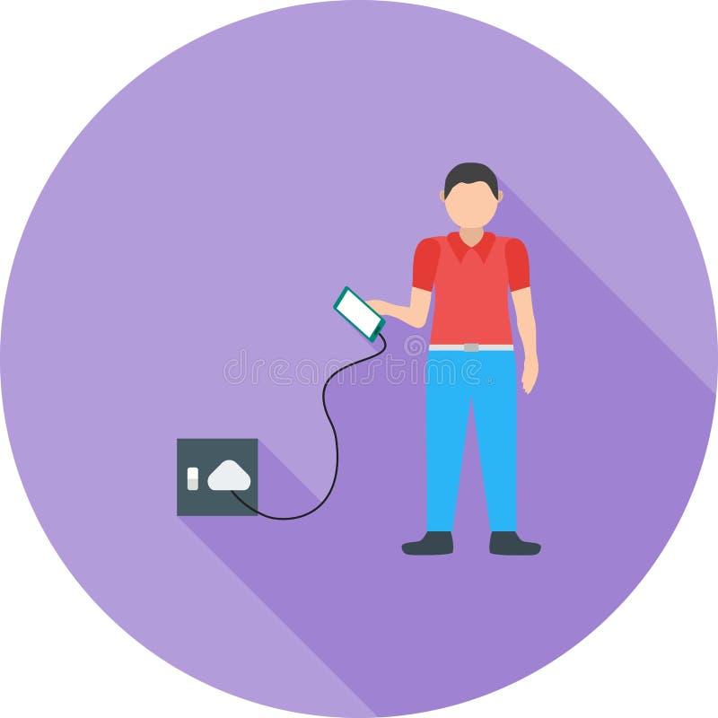 charging vector illustratie