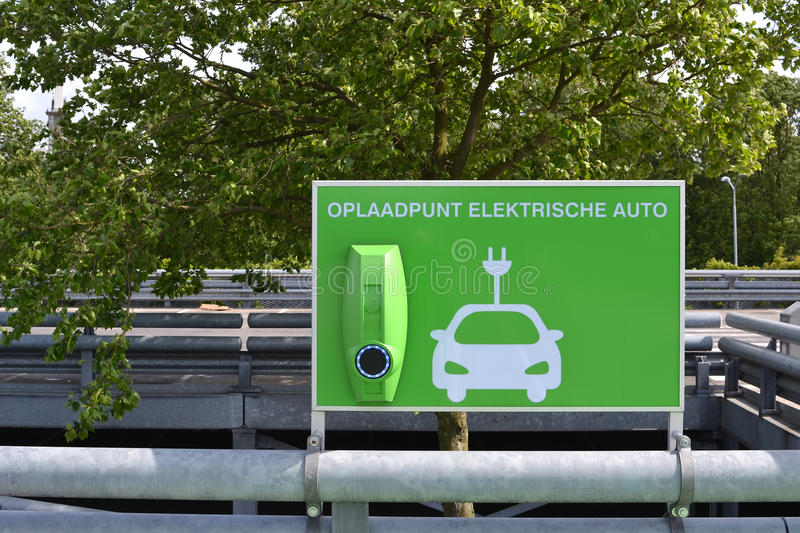 Download Charging Station For Electric Cars. Stock Image - Image of shopping, fuel: 35385325