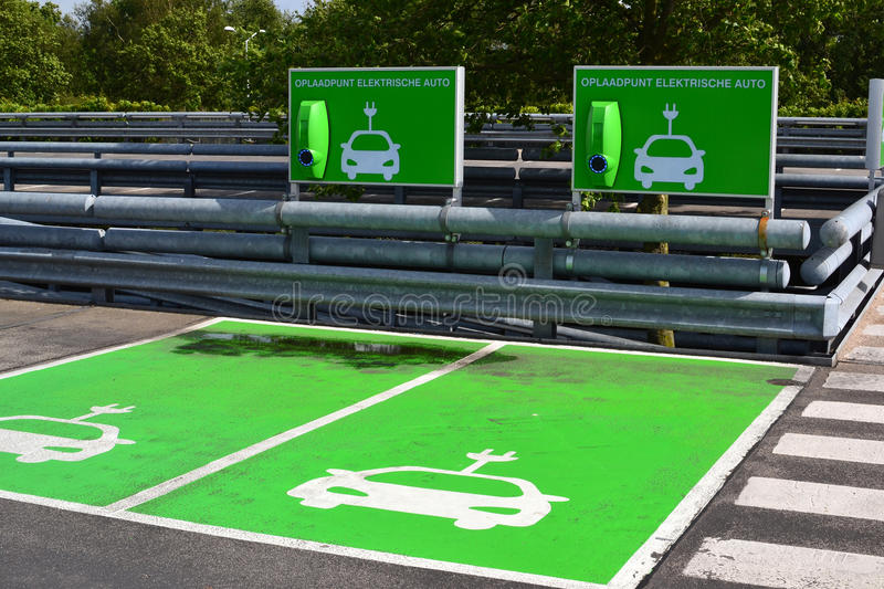 Download Charging Station For Electric Cars. Stock Image - Image: 35385375