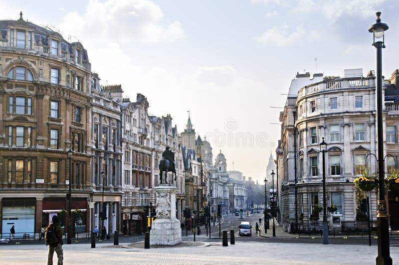charing kors london arkivbild
