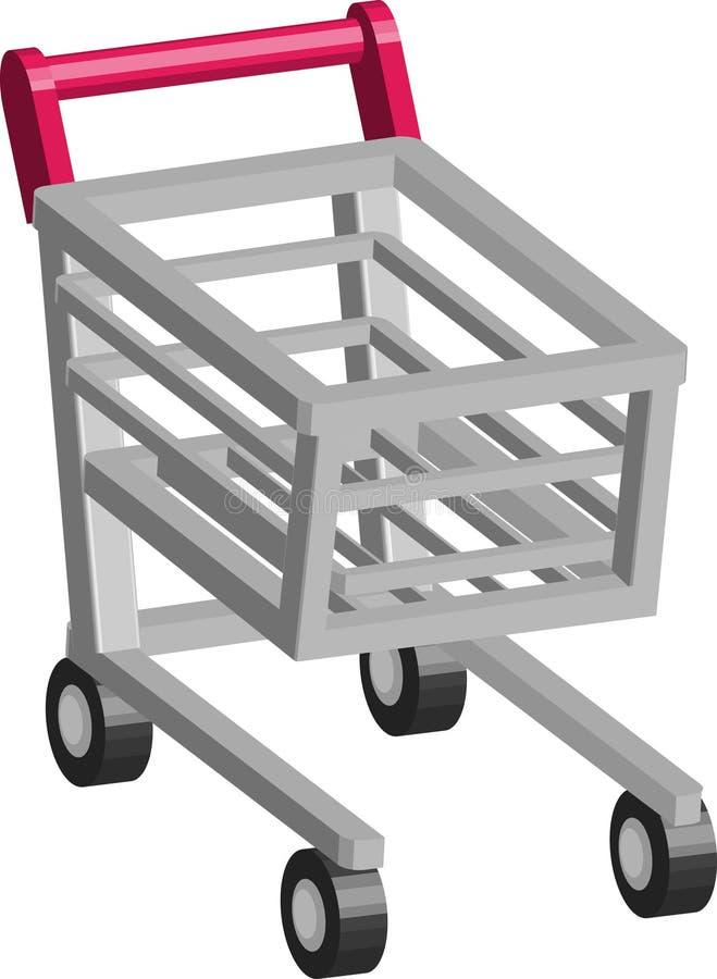 Download Chariot à caddie illustration de vecteur. Illustration du ajoutez - 2129577