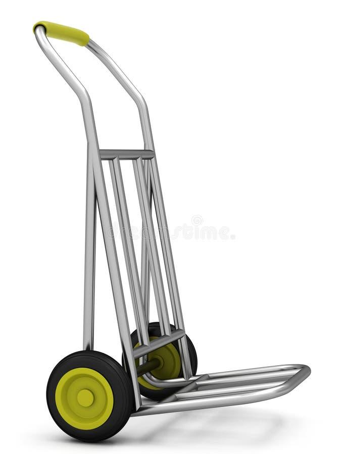 chariot à Deux-roue illustration libre de droits