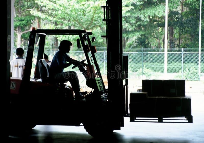 Chariot élévateur photo stock