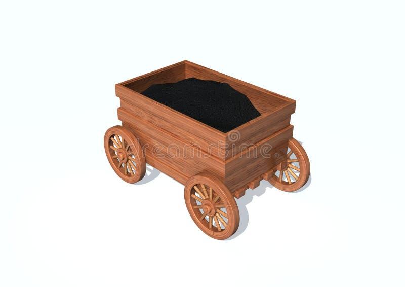 Chariot illustration stock