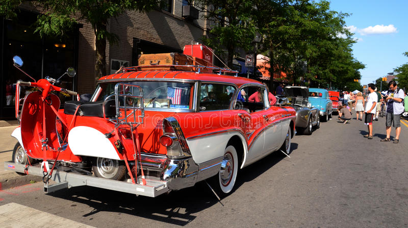 Chariot 1957 de trappe de Buick Callabro 4 photo libre de droits