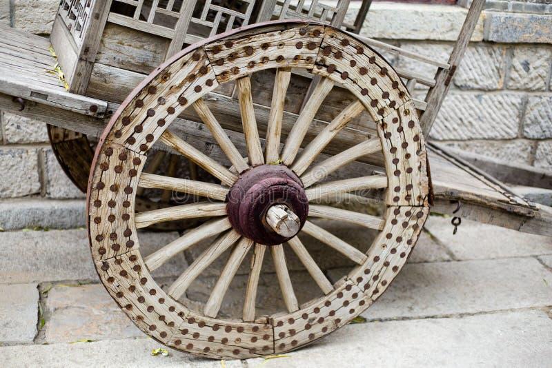 Chariot antique du ` s de la Chine images libres de droits