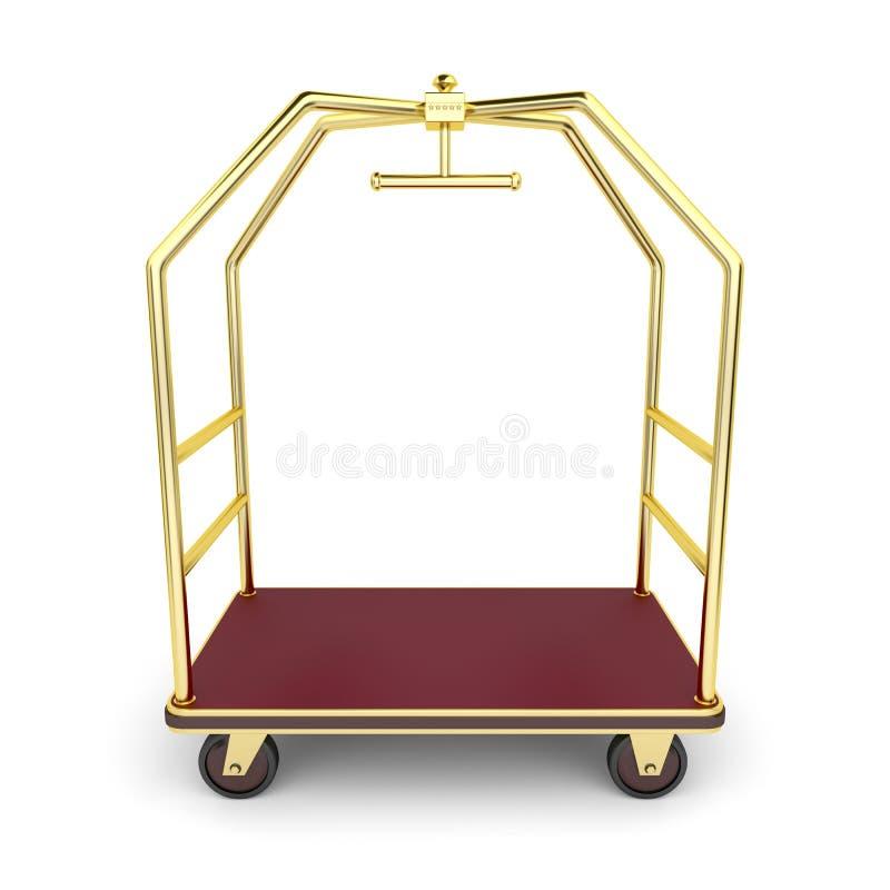 Chariot de bagage illustration libre de droits