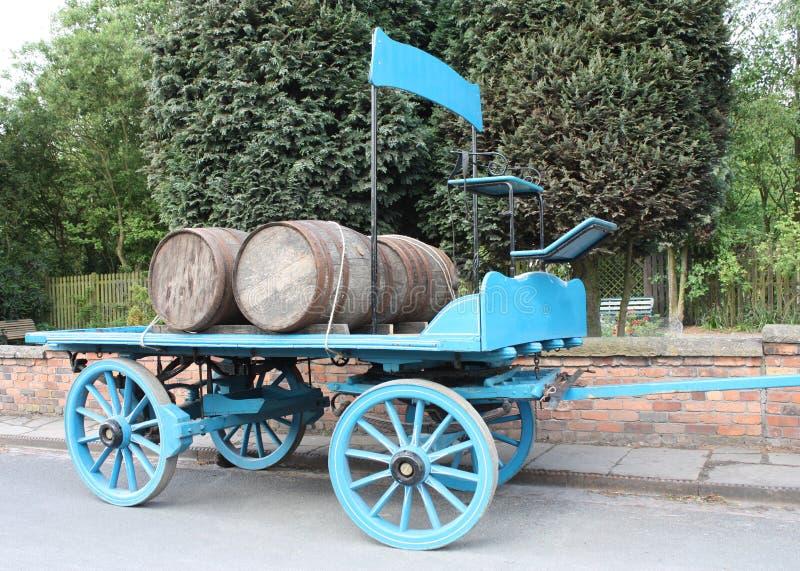 Chariot de brasserie. photos stock