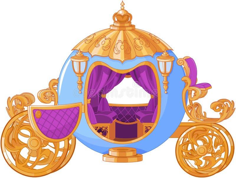 Chariot de conte de fées illustration libre de droits