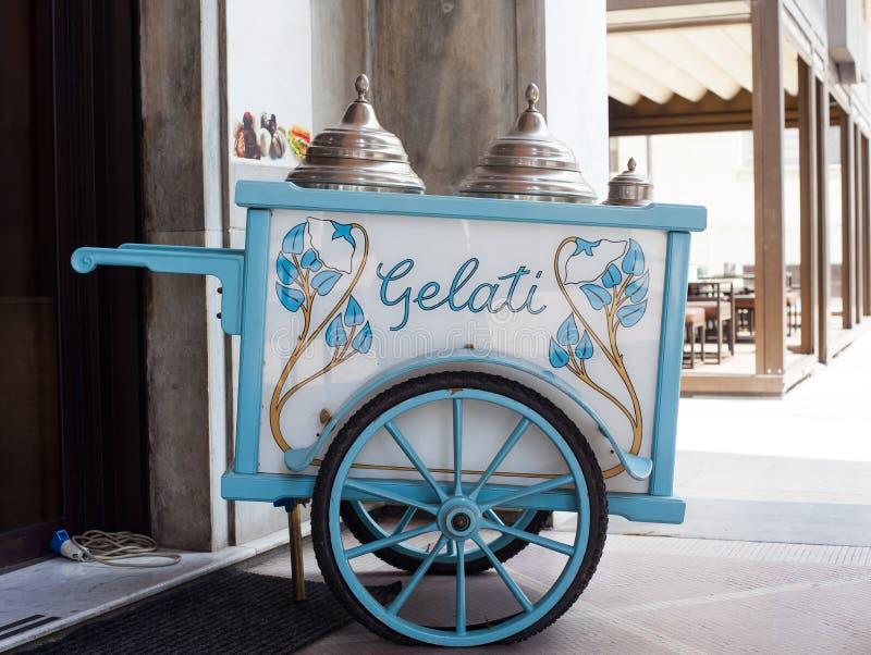 Chariot de crème glacée photos libres de droits