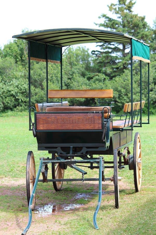 Chariot de ferme dans le domaine photo libre de droits