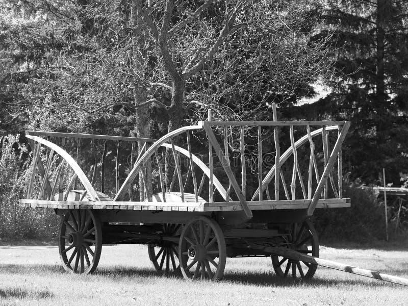 Chariot de foin images stock