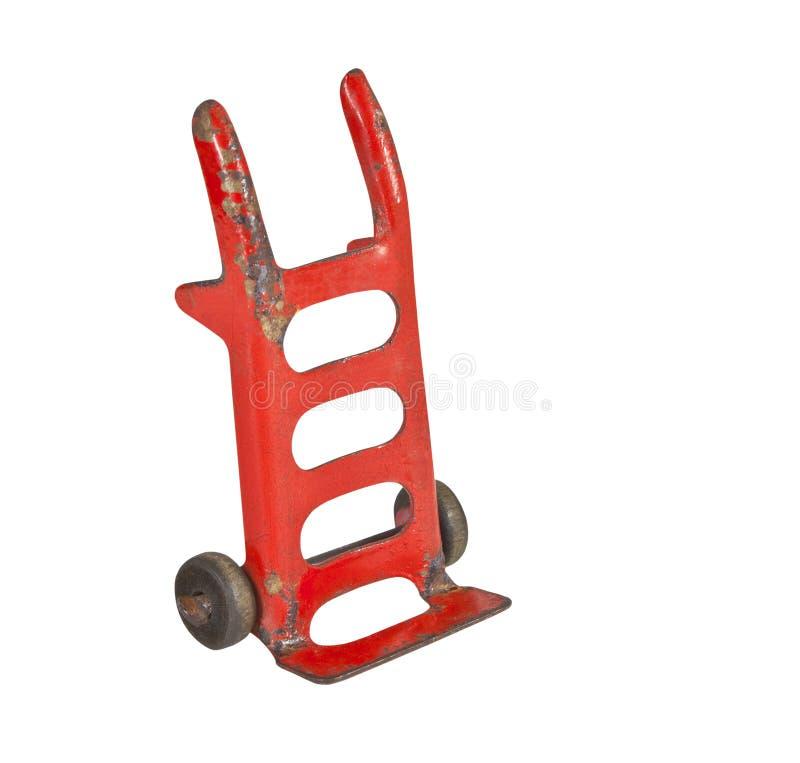 Chariot de jouet de cru image stock