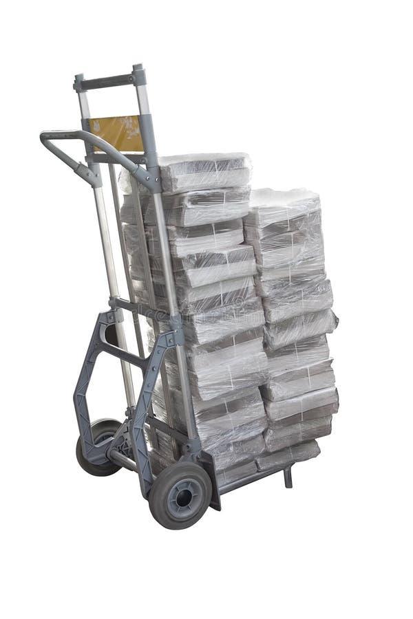 Chariot de la distribution images stock