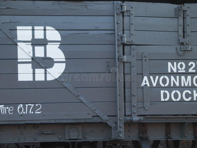 Chariot de train image libre de droits