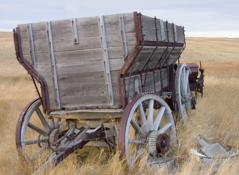 Chariot en bois photographie stock libre de droits