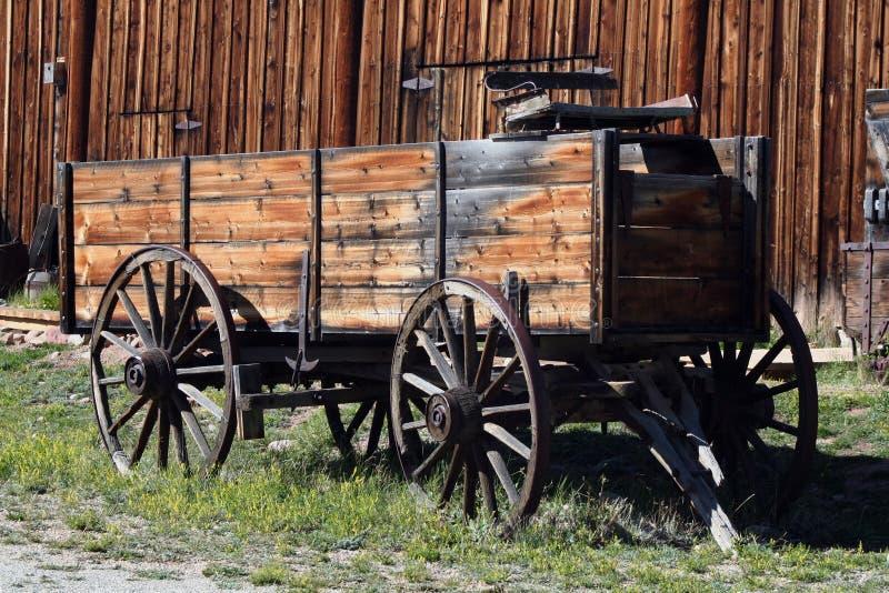 Chariot pionnier images libres de droits